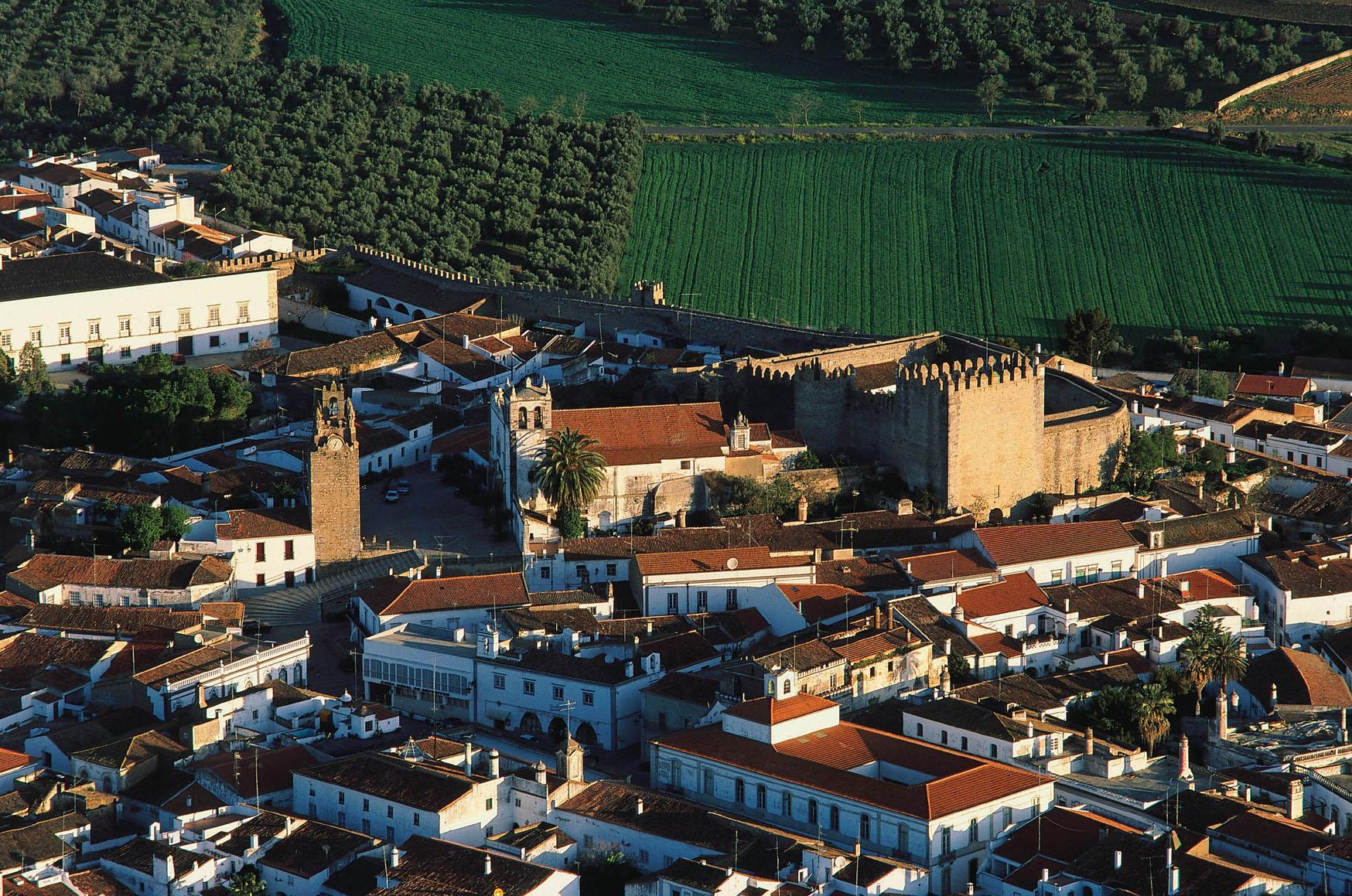 Vista aérea de Serpa - Foto: Antonio Sacchetti