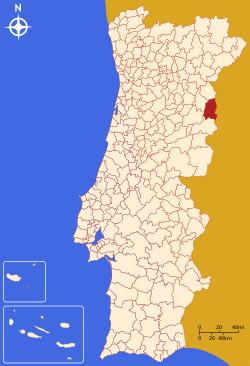 mapa de portugal vilar formoso Freixo   Memória Portuguesa mapa de portugal vilar formoso