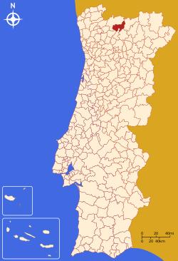 mapa de portugal boticas Boticas   Memória Portuguesa mapa de portugal boticas