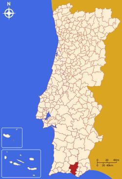 loulé mapa Loulé   Memória Portuguesa loulé mapa